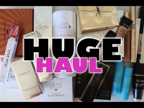 HUGE New Makeup Haul + Reviews | So Much New Makeup!