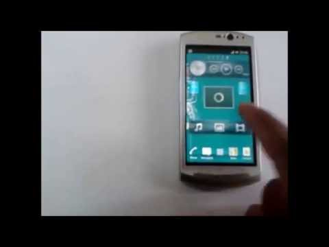 Sony Ericsson Xperia Neo V Running Official ICS
