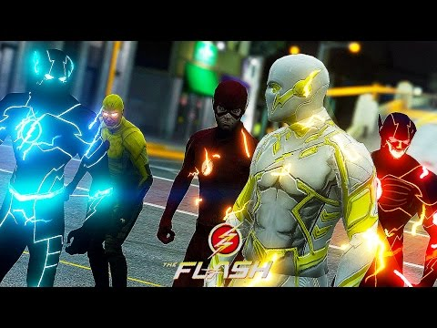 God Speed VS All Speedsters ! 1 vs 4...