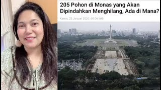 Sebenarnya malas bicara soal Anies, akhirnya Tante Jepang angkat bicara soal Revitalisasi Monas