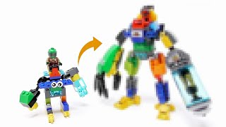 Gambar cover LEGO - My Son's Mech Upgrade Part4 - Stop Motion Build
