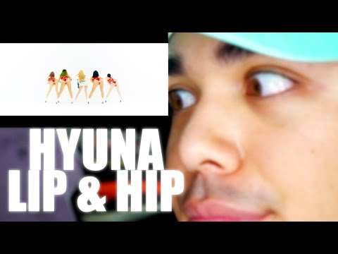 HyunA - Lip & Hip MV Reaction