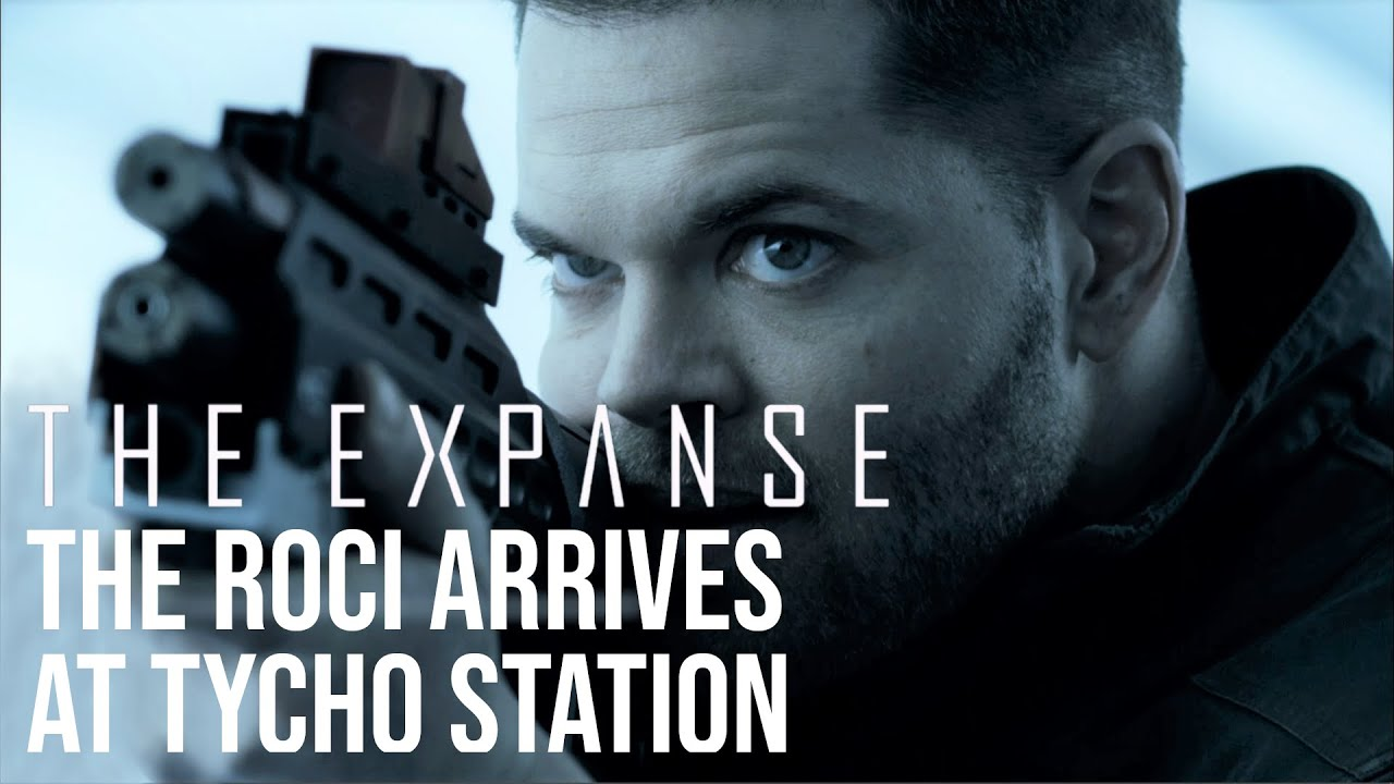 Download The Expanse - The Roci Finds Safe Harbour at Tycho Station