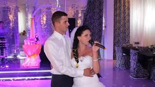 Невеста поет на свадьбе! Песня на свадьбу! Cover 30.02 ( звезды в лужах)#MFYRND