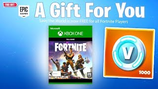 The Fortnite Save The World FREE Release...