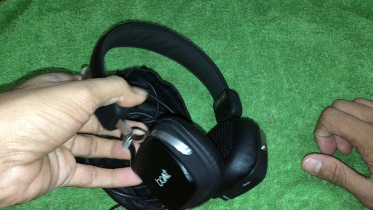 c6e714b105a Boat Rockerz 600 Bluetooth HEADPHONE Review - YouTube