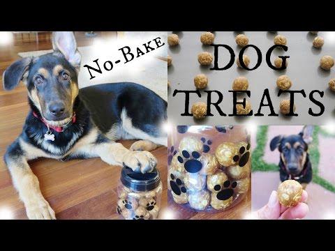 No-Bake Dog Treats