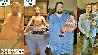Inspiring Men Fat Loss Transformation Male Obese To Muscle Fit Motivation Before And After