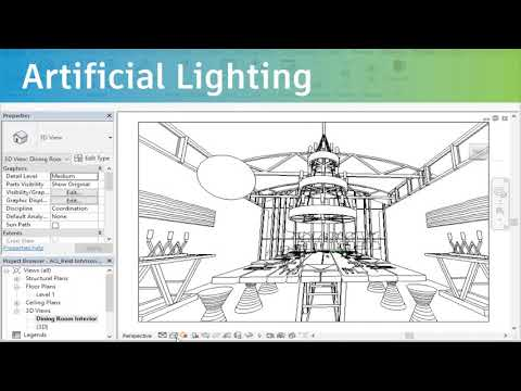 Learn how to render your 3D design under 5 minutes with Revit.