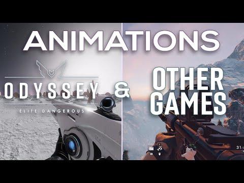 [FEEDBACK] Elite Dangerous: Odyssey (ALPHA - Phase 2) | Animation Comparisons |