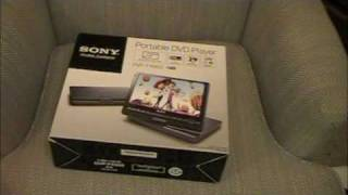 Sony Portable DVD Player Unboxing