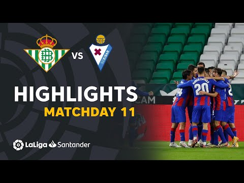 Betis Eibar Goals And Highlights