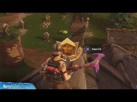 Fortnite Battle Royale - Snobby Shores Treasure Map Location Guide (Season 5 Challenge)
