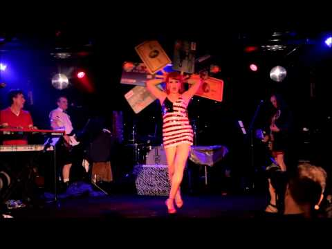Burgundy Brixx  American Woman Burlesque