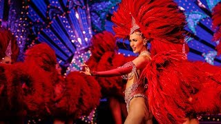 Paris - Moulin Rouge show and dinner(Book your travel activities at http://www.viator.com/paris-shows Enjoy an evening at the Moulin Rouge with a delicious 3-course dinner and a sensational ..., 2015-12-31T15:21:30.000Z)