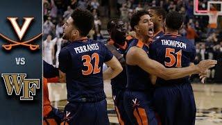Virginia vs. Wake Forest Basketball Highlights (2015-16)