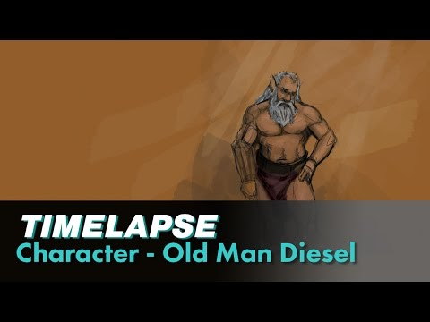 Character - Old Man Diesel