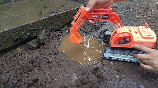 Lets play excavator videos for children in real work