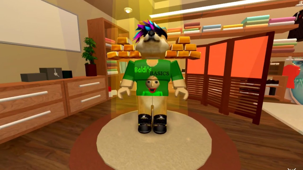 How To Get Goldrow Item Roblox Youtube