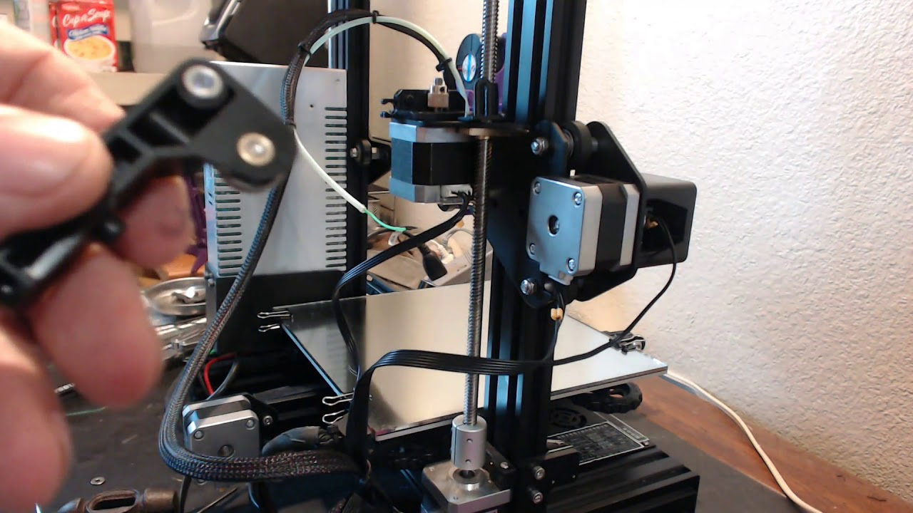 Fixing the Ender 3 Filament Feeder - Extruder