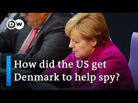 New report says Denmark helped US NSA spy on German politicians   DW News