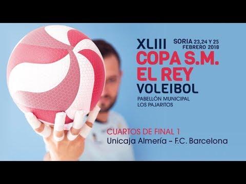 CUARTOS 1 - Copa de S.M. el Rey de voleibol 2018 (Soria)