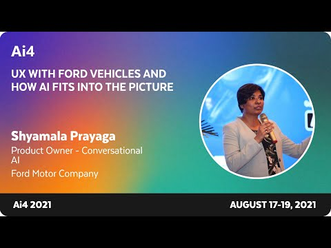 UX with Ford Vehicles and How AI Fits into the Picture