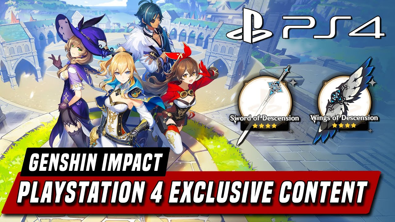 Genshin Impact Playstation 4 Release Date Exclusive Rewards Youtube