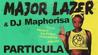 Major Lazer & DJ Maphorisa - Particula cover instrumental/karaoke