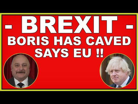 Brexit: Boris Johnson has crumbled on the Level Playing Field says EU! (4k)