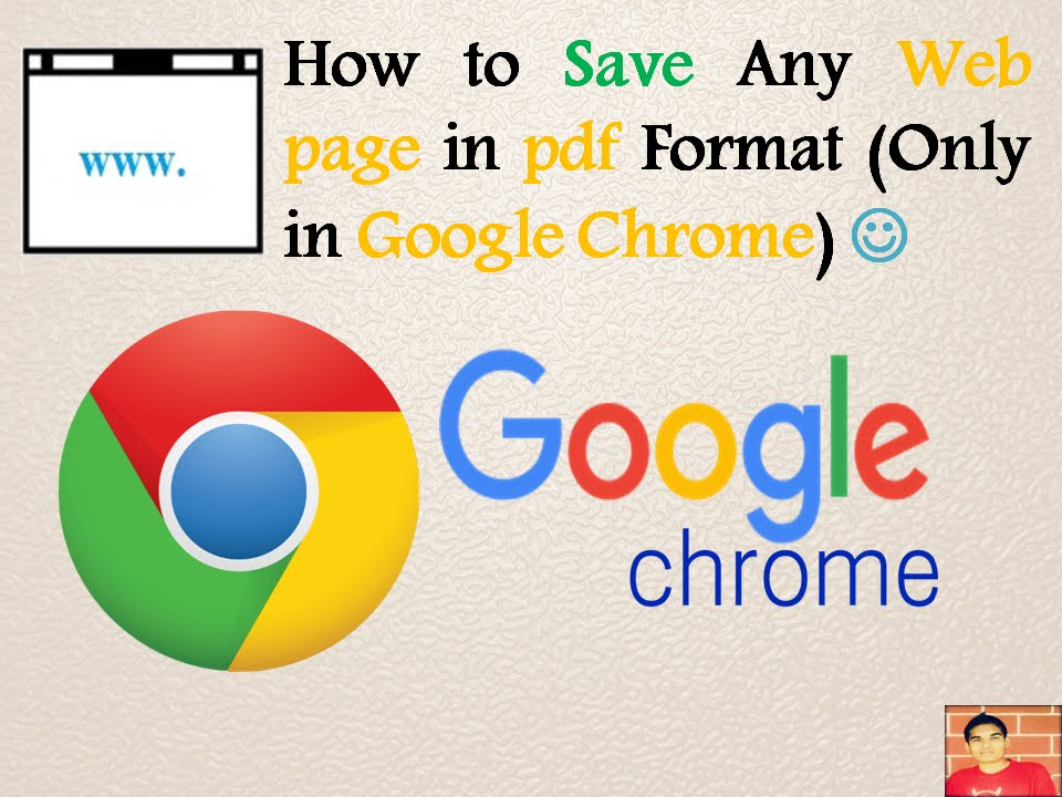 how to change a saved webpage to pdf
