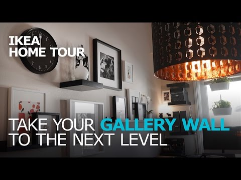 Simple & Stylish Gallery Wall Ideas - IKEA Home Tour