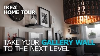 Simple & Stylish Gallery Wall Ideas   Ikea Home Tour