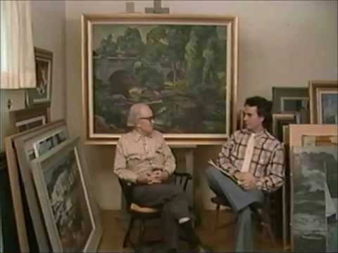 Artist Antonio P. Martino Interview about his paintings - by Dennis O'lone - March, 1986