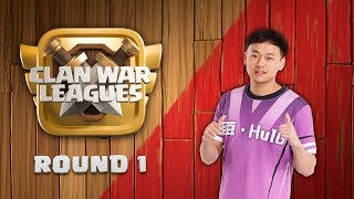 Clan War Leagues Season 3 Round 1 Clash of Clans TH12 Pro Attacks