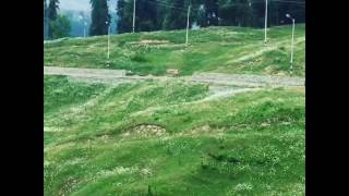Beautiful Gulmarg (Kashmir) Green Mountain Valley.
