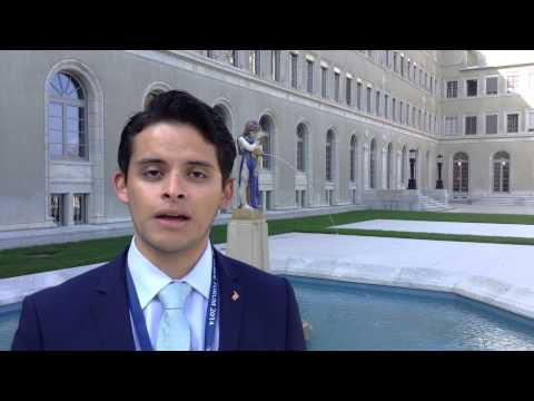 Day 1 Remarks at the 2014 WTO Public Forum with YDC Ambassador Diego Reyeros