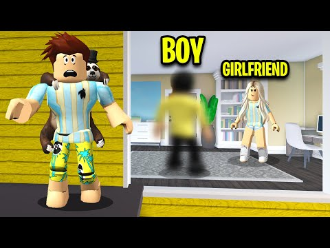 ANOTHER BOY Was In My GIRLFRIENDS Home.. (Roblox)