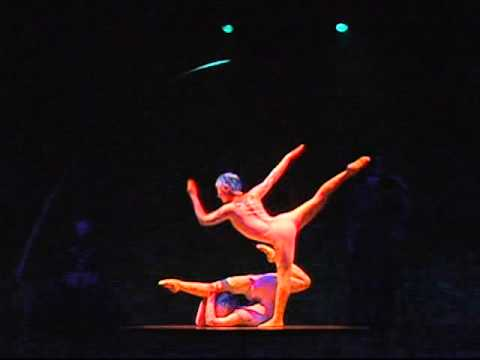 Alegria- Duo Contortion in LONDON (Oyun-Erdene Senge and Ulziibuyan Mergen)