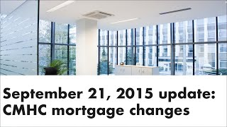 Mortgage Update Sept 21 2015 - Andrew Thake | Ottawa Mortgage Man