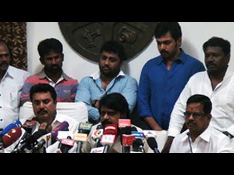 Komban Film Release Issue |கண்கலங்கிய 'கொம்பன்' தயாரிப்பாளர்