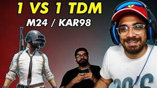 Vella boy Vs Goldy Boy | PUBG TDM MATCH | M24 / Kar98