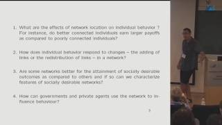 Andrea Galeotti - Investment Games on Networks