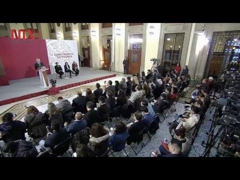 Conferencia de prensa de AMLO del 24 de enero