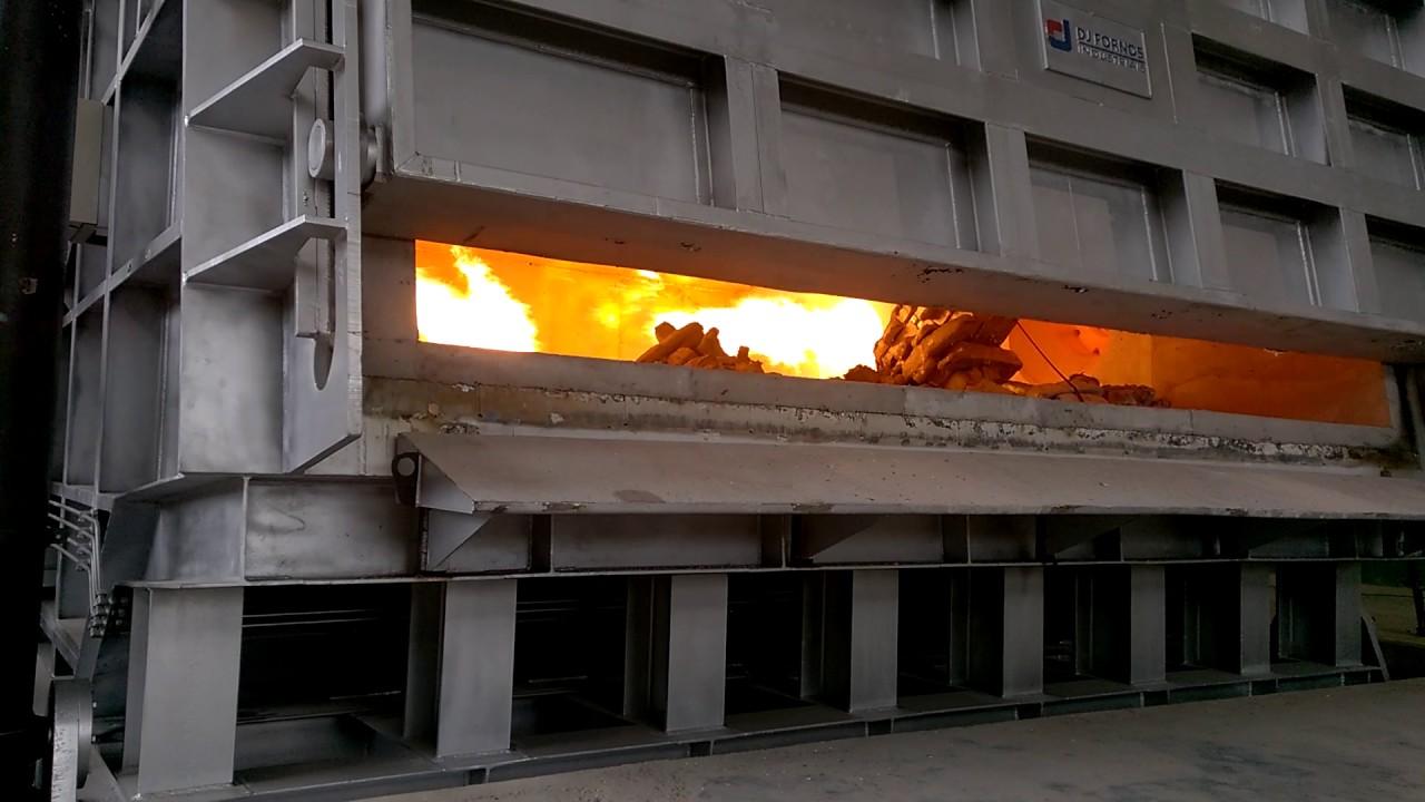 ESA Regenerative burners in aluminium holding/melting ...