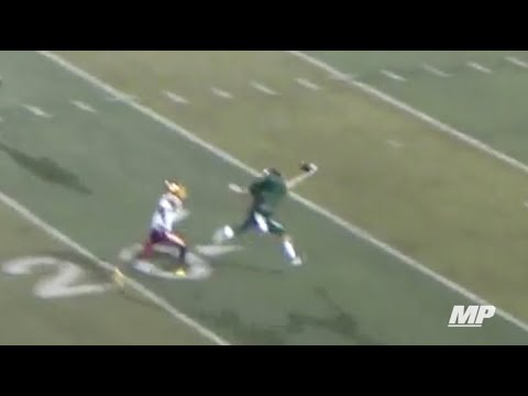 Bob Stoops' son makes incredible one-handed TD catch