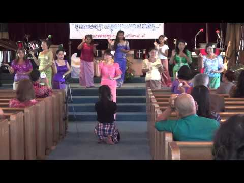 2014 Cambodian Ministries For Christ 31st Annual Conference - Khmer Dance