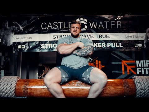 GOING FOR THE 230KG LOG PRESS WORLD RECORD! - LUKE STOLTMAN