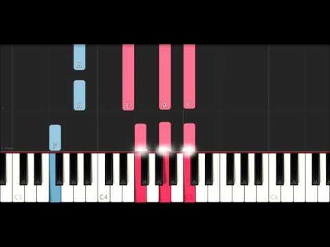 Calvin Harris ft Kehlani,Lil Yachty - Faking It (EASY Piano Tutorial)