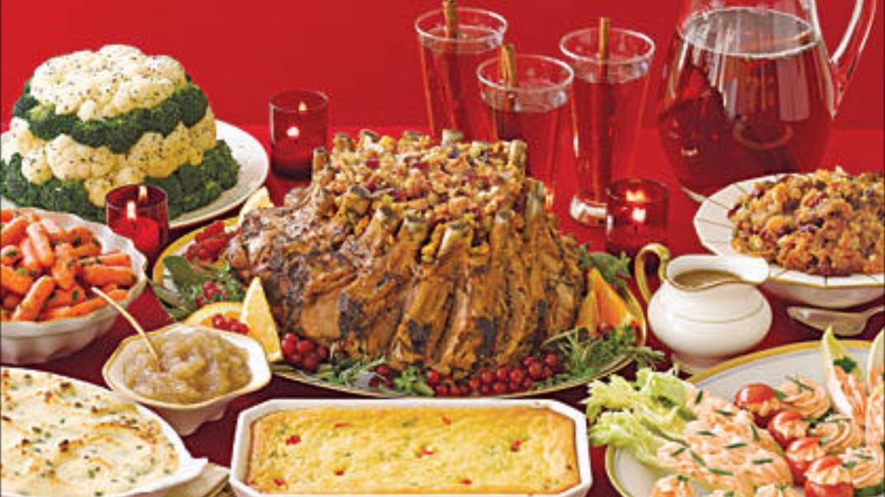 Christmas Dinner Ideas For A Crowd.Yummy Christmas Dinner Ideas